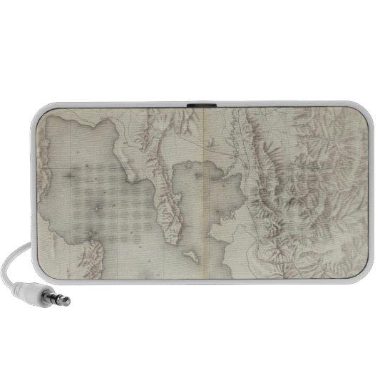 Composite Topographical maps IV Mini Speaker