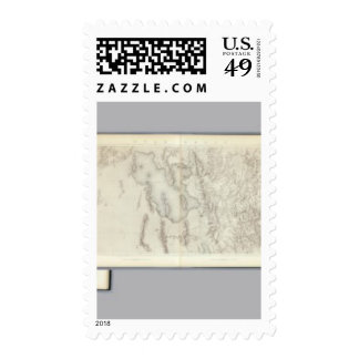 Composite Topographical maps IV Postage Stamp