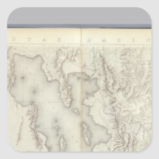 Composite Topographical maps IV Stickers