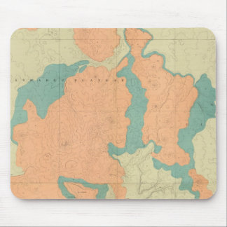 Composite Uinkaret Plateau North and South half Mouse Pad