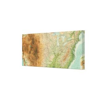 Composite United States Canvas Print