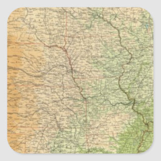 Composite United States Square Sticker