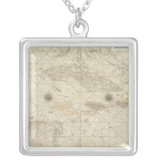 Composite West Indies Silver Plated Necklace