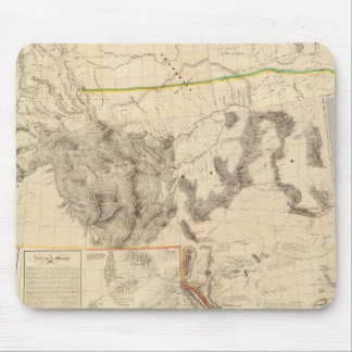 Composite Western United States Mouse Pad