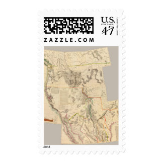 Composite Western United States Postage