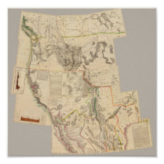 Composite Western United States Poster