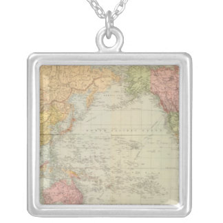 Composite World on Mercator's projection Custom Jewelry