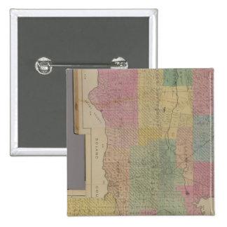 Composite Yolo County 2 Inch Square Button