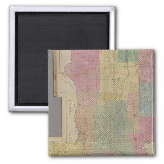 Composite Yolo County 2 Inch Square Magnet