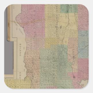 Composite Yolo County Square Sticker
