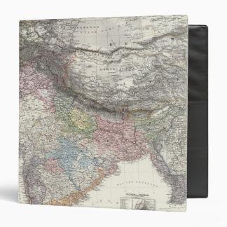 CompositeMap of India, Asia Binder