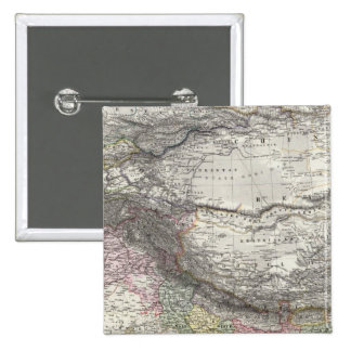 CompositeMap of India, Asia Pinback Button