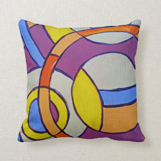 Composition #14 by Michael Moffa Throw Pillow