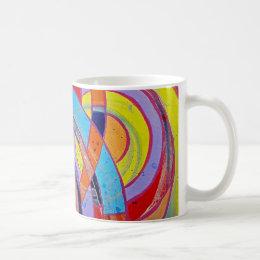 Composition #15 by Michael Moffa Coffee Mug