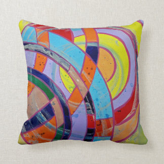 Composition #15 by Michael Moffa Throw Pillow