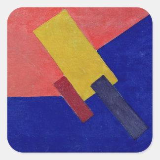 Composition, 1918 square sticker