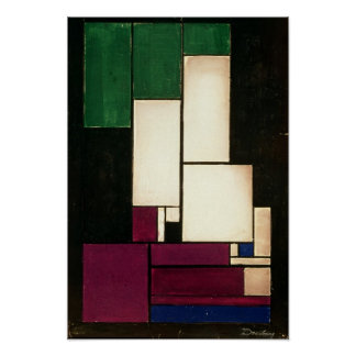 Composition, 1922 poster