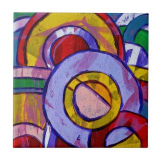 Composition #19 by Michael Moffa Ceramic Tile