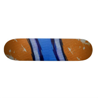 Composition #1B by Michael Moffa Skateboard Deck
