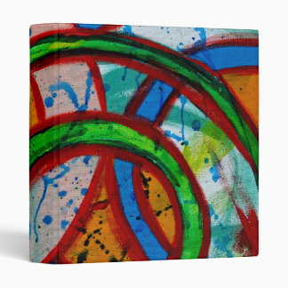 Composition #20 by Michael Moffa 3 Ring Binder