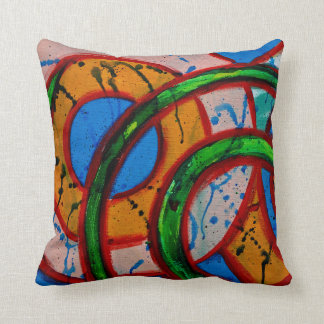 Composition #20 by Michael Moffa Throw Pillow