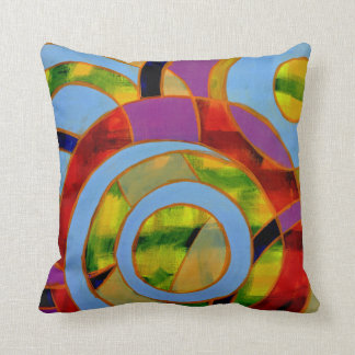 Composition #21 by Michael Moffa Throw Pillow