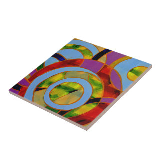 Composition #21 by Michael Moffa Tile