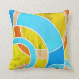 Composition #23 by Michael Moffa Throw Pillow