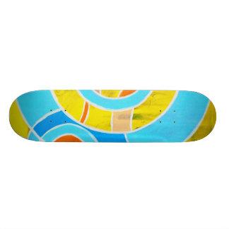 Composition #23A by Michael Moffa Skateboard Deck