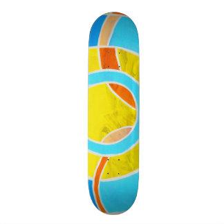 Composition #23B by Michael Moffa Skateboard Deck