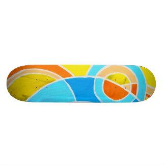 Composition #23C by Michael Moffa Skateboard Deck