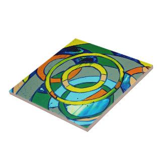 Composition #26 by Michael Moffa Ceramic Tile