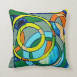 Composition #26 by Michael Moffa Pillows