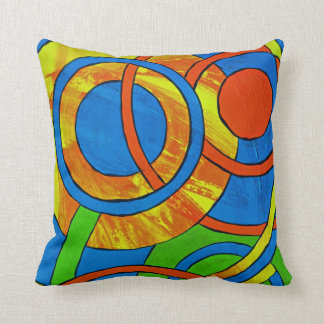 Composition #29 by Michael Moffa Throw Pillow