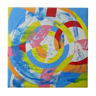 Composition #2 by Michael Moffa Ceramic Tile