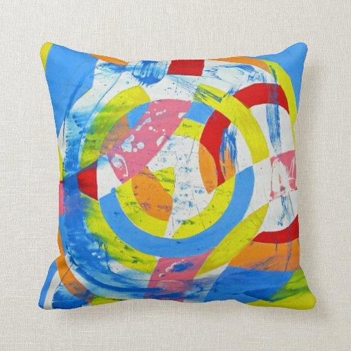 Composition #2 by Michael Moffa Throw Pillows