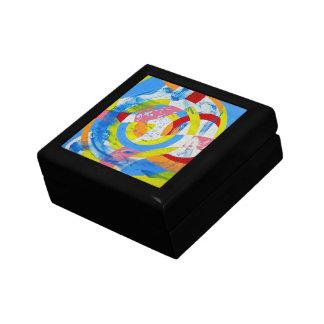 Composition #2 by Michael Moffa Trinket Box