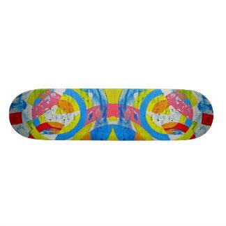 Composition #2B by Michael Moffa Skateboard Deck