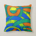 Composition #30 by Michael Moffa Pillow