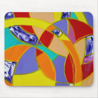 Composition #5 by Michael Moffa Mouse Pad