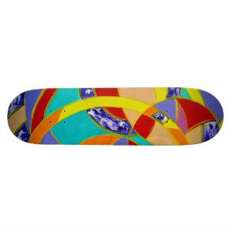 Composition #5 by Michael Moffa Skateboard Deck