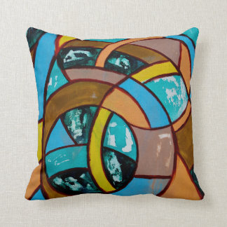 Composition #8 by Michael Moffa Throw Pillow