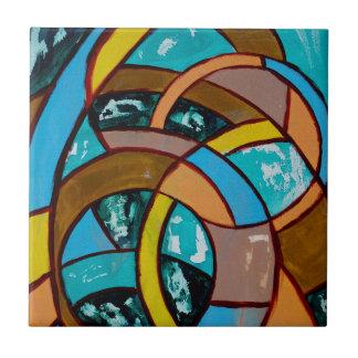 Composition #8 by Michael Moffa Tile