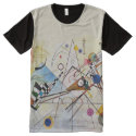 Composition 8 by Wassily Kandinsky; Abstract Art T All-Over Print T-shirt (<em>$44.60</em>)