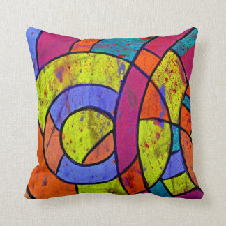 Composition #9 by Michael Moffa Throw Pillow