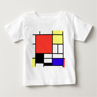 Composition and Mondriaan Baby T-Shirt