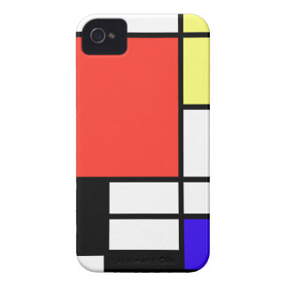 Composition and Mondriaan iPhone 4 Case