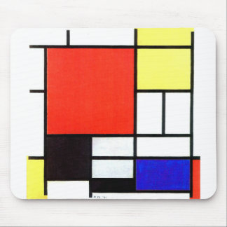 Composition and Mondriaan Mouse Pad