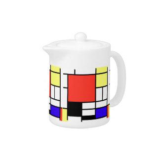 Composition and Mondriaan Teapot