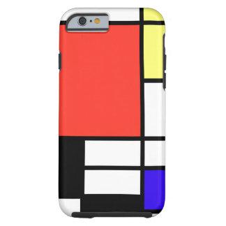 Composition and Mondriaan Tough iPhone 6 Case